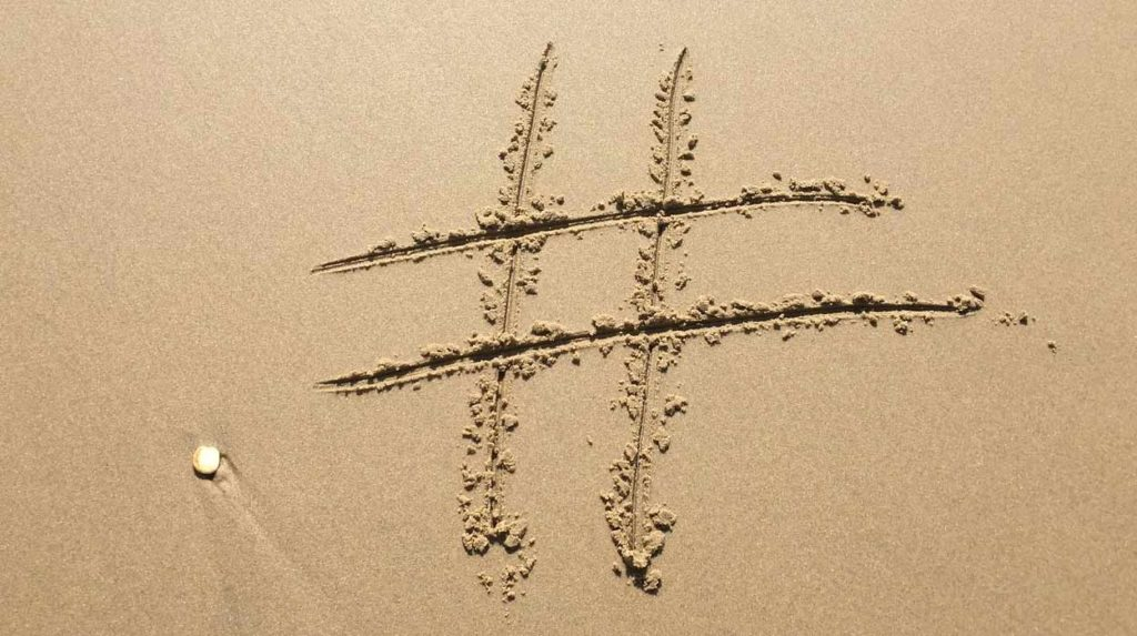 How to properly use hashtags in social media